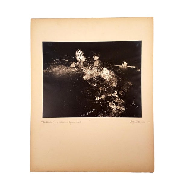 "1940 Fritz Roetter ""Watermelon Race - Armour Square Park"" Photo - Image 2 of 7"
