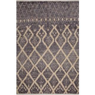 Moroccan Gertrudi Wool Rug - 7′11″ × 10′4″ For Sale