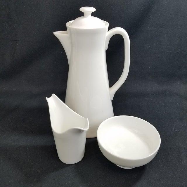 Ceramic Gustavsberg Stig Lindberg Bone China Espresso Set For Sale - Image 7 of 11