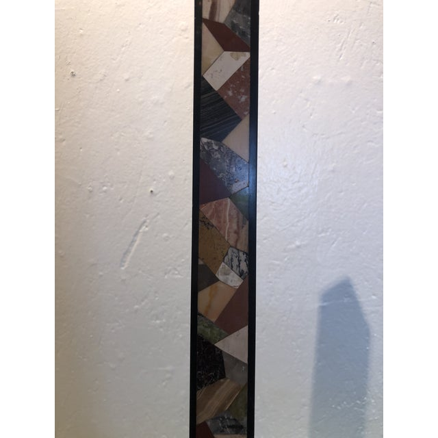 Inlaid Stone Obelisk For Sale - Image 11 of 13