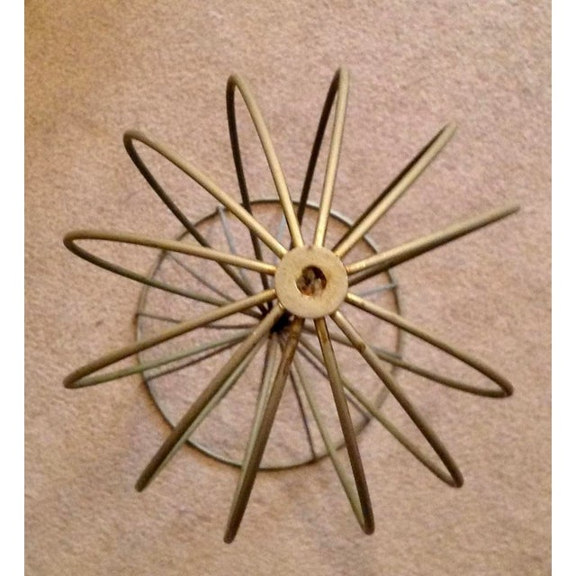 1960s Mid Century Modern Wire Hat Stand For Sale - Image 4 of 7