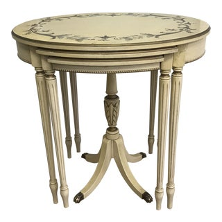 Imperial Grand Rapids French Style Nesting Tables - Set of 3 For Sale