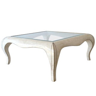 Hollywood Regency Marble Coffee Table For Sale