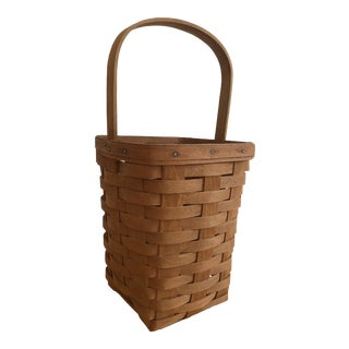 Longaberger Hand Woven Basket For Sale