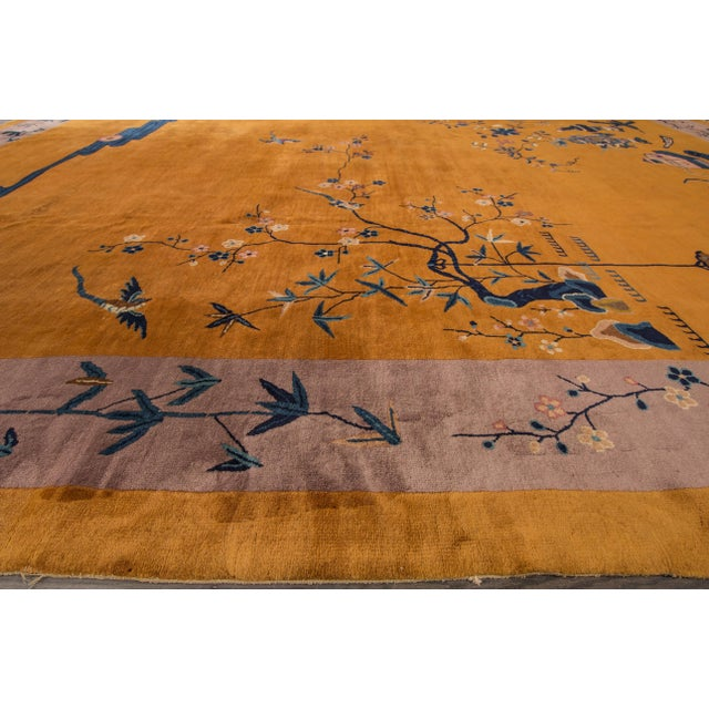 "Apadana Chinese Art Deco Rug - 10' X 13'6"" - Image 6 of 7"