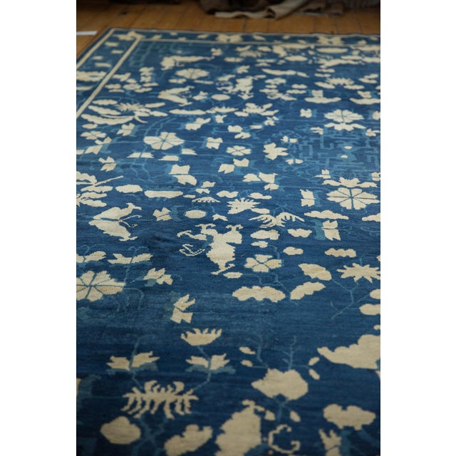 """Antique Peking Carpet - 8'9"""" X 11'4"""" For Sale In New York - Image 6 of 13"""