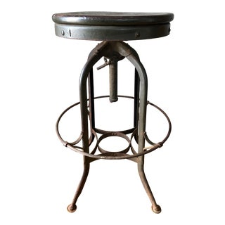 Vintage Uhl Toledo Stool For Sale