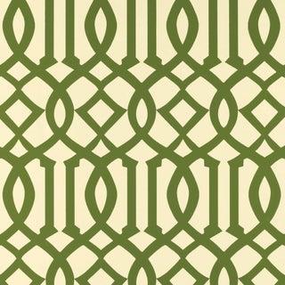 Sample - Schumacher Imperial Trellis Wallpaper in Treillage Preview