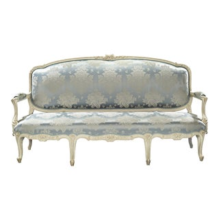 Louis XV Settee by Jean-René Nadal L'Ainé For Sale
