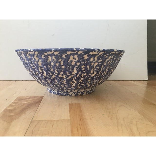 Large Blue & White Bowl - Image 2 of 7