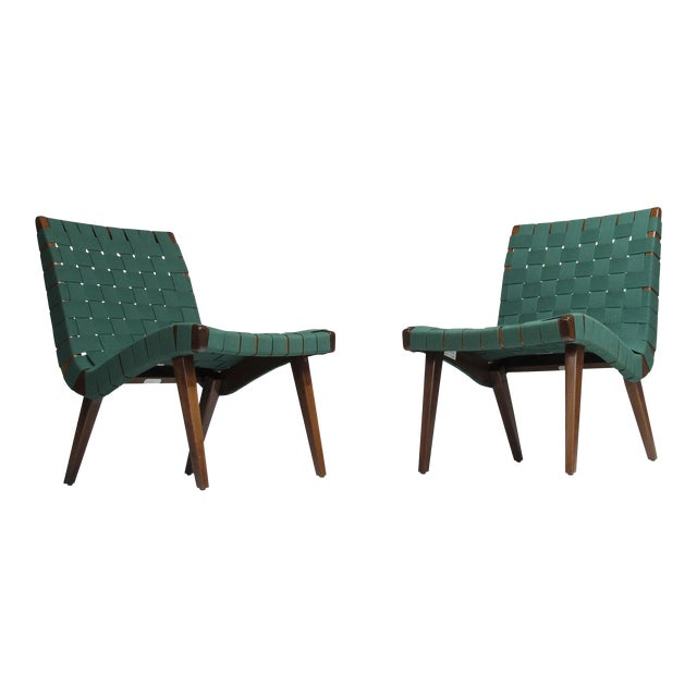 Jens Risom for Knoll Studio Lounge Chairs For Sale