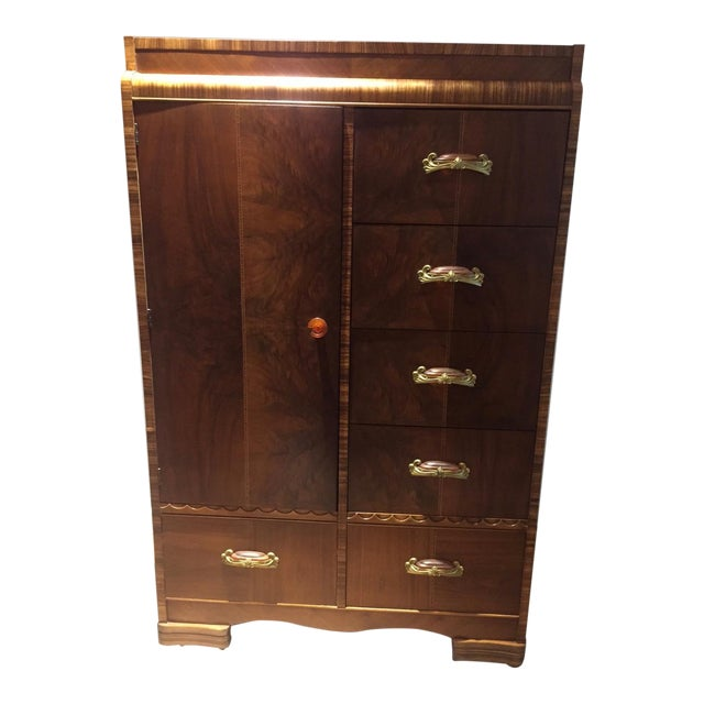 Art Deco Wardrobe - Image 1 of 5