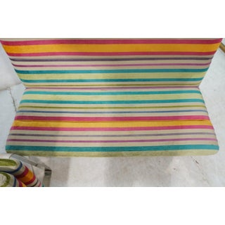 Set of 2 Kho Liang Ie for Artifort Awning Striped Chenille Sofas Preview