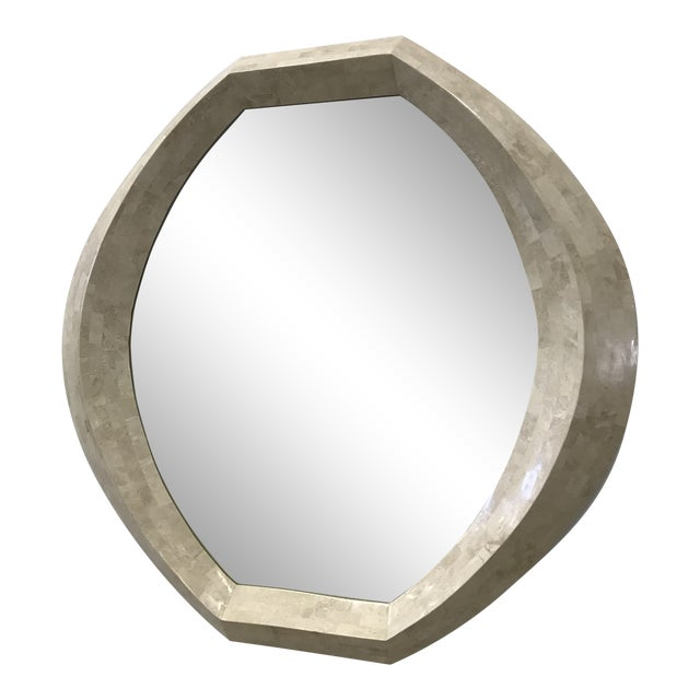 Robert Marcius for Casa Bique Tessellated Stone Mirror For Sale
