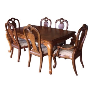 Thomasville Dining Table and 6 Chairs