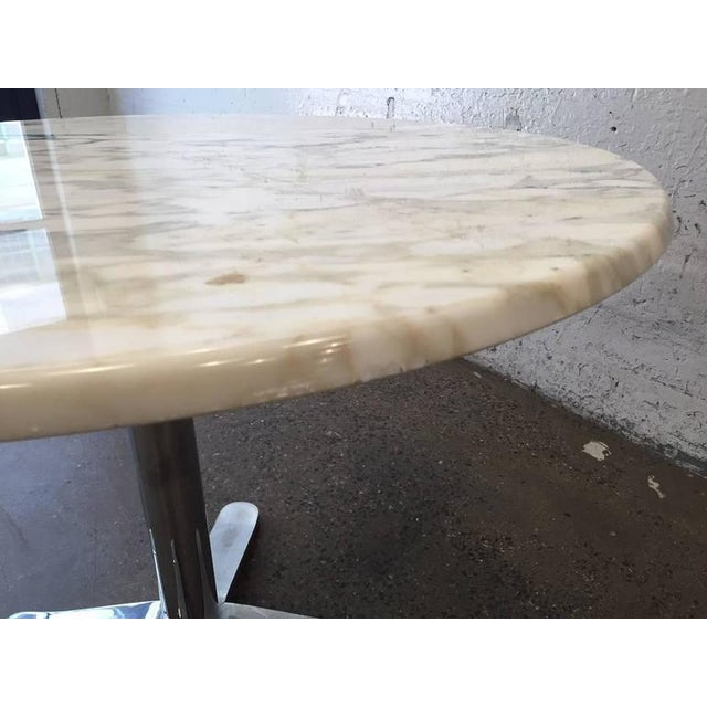 Mid-Century Modern Nicos Zographos Marble Top Table For Sale - Image 3 of 5