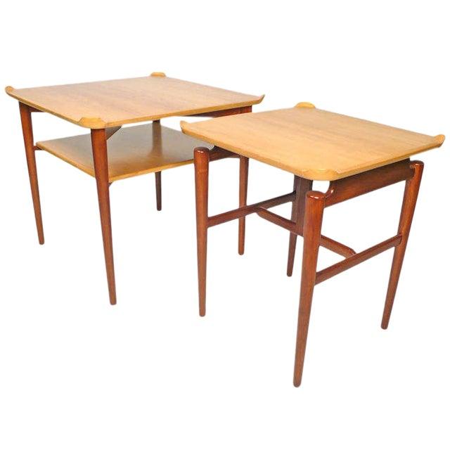 Side or End Tables by Finn Juhl for Baker For Sale
