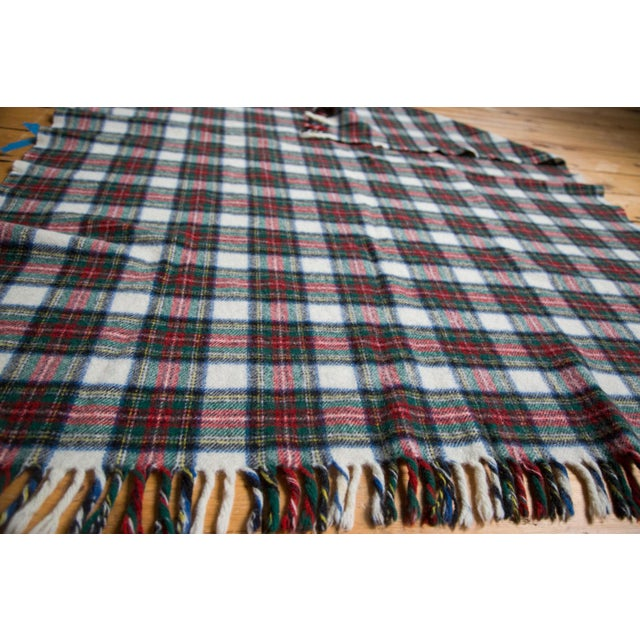 Vintage Plaid Blanket - Image 4 of 6