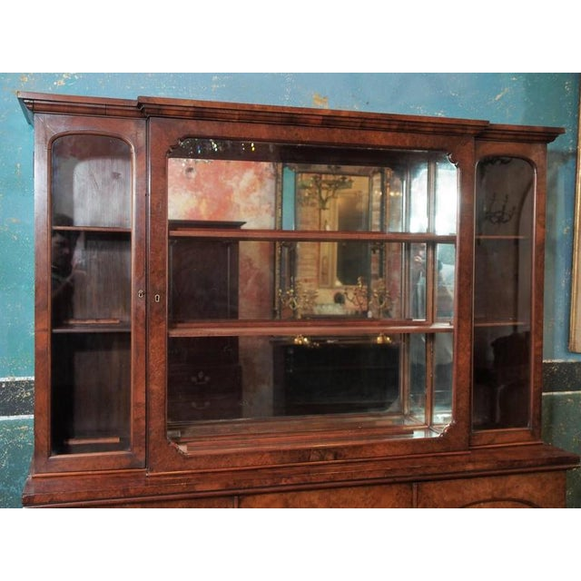 "English Burl Walnut ""Cocktails"" Bar Cabinet-1920's - Image 3 of 9"