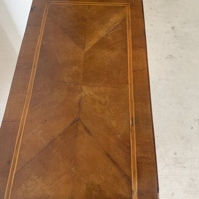 1910's Italian 3 Drawer Inlaid Chest For Sale - Image 12 of 13