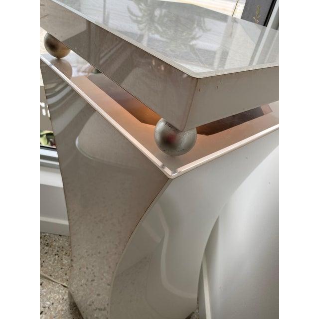"40"" Art Deco Style Illuminated Pedestal For Sale - Image 12 of 13"