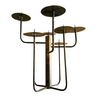1950s Organic Modernist Studio Candelabra For Sale