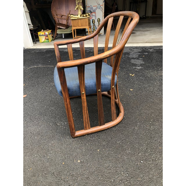 Mid Century Edward Wormley for Drexel Rosewood Club Chair For Sale - Image 9 of 11