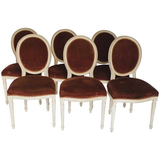 Set of 6 French Chairs For Sale - Image 13 of 13