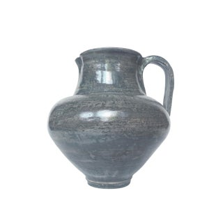 Thom Lussier Ceramic Pitcher Vase For Sale