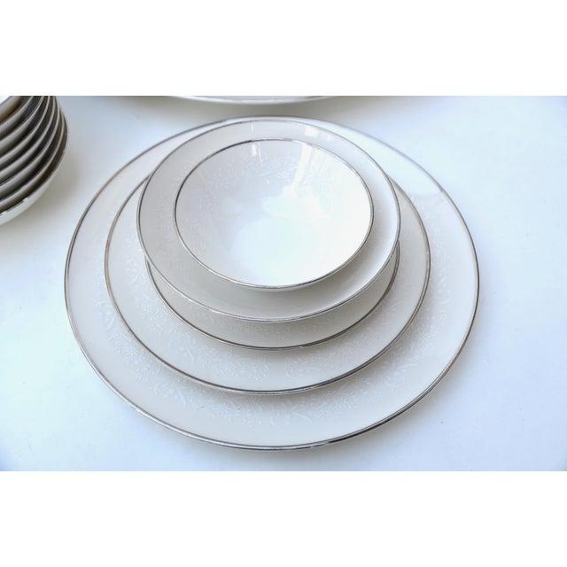 Noritake Lorelei Fine China Set - Set of 80 For Sale - Image 10 of 12