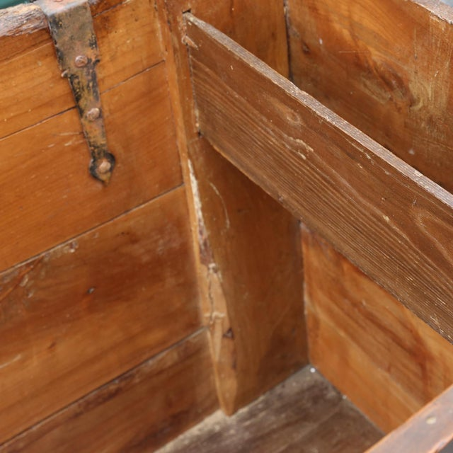 18th Century Carved Spanish Chest For Sale - Image 10 of 10