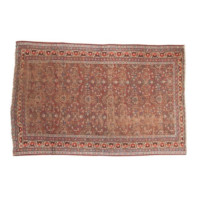 """Antique Kurdish Carpet - 5'10"""" x 8'1"""" For Sale"""