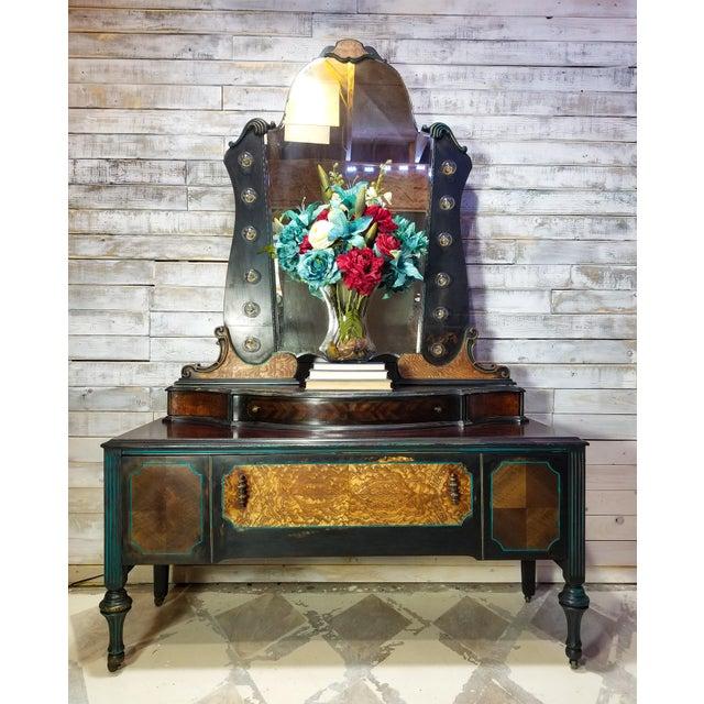 Light It Up Antique Vanity Chairish