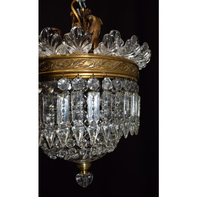 Superb antique lighting baccarat pendant decaso antique lighting baccarat pendant image 3 of 6 mozeypictures Gallery