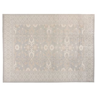 Stark Studio Rugs Traditional New Oriental 50% Wool/50% Viscose Rug - 9′2″ × 12′3″ For Sale