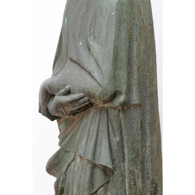 Bronze Female Statue For Sale - Image 9 of 13