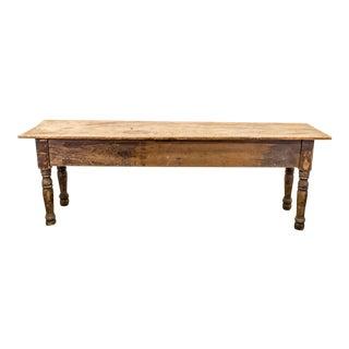 1900s Antique Pennsylvania Farm Table For Sale