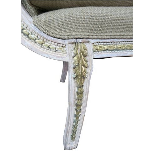 Italian Neoclassical-Style Painted Sofa - Image 4 of 7