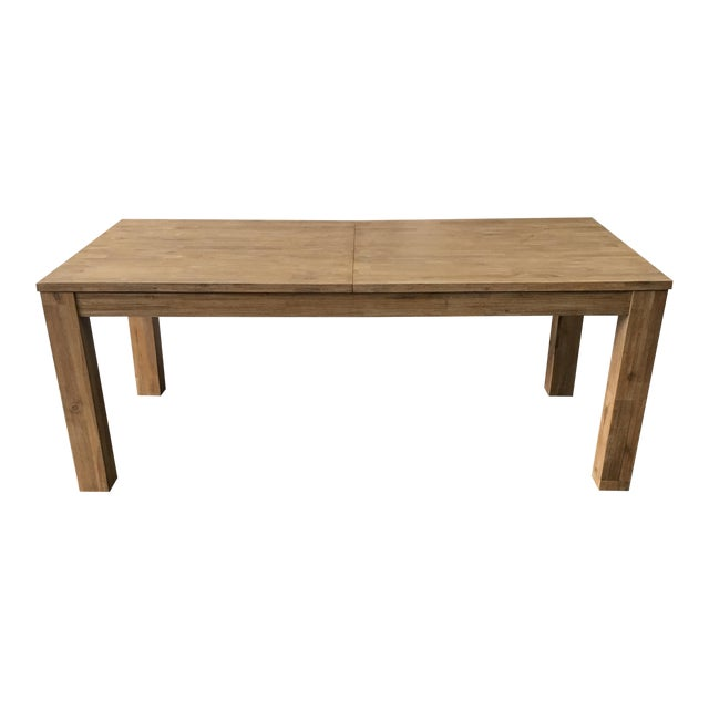 N.P.D. Bedford Butterfly Dining Table in Brushed Smoke For Sale