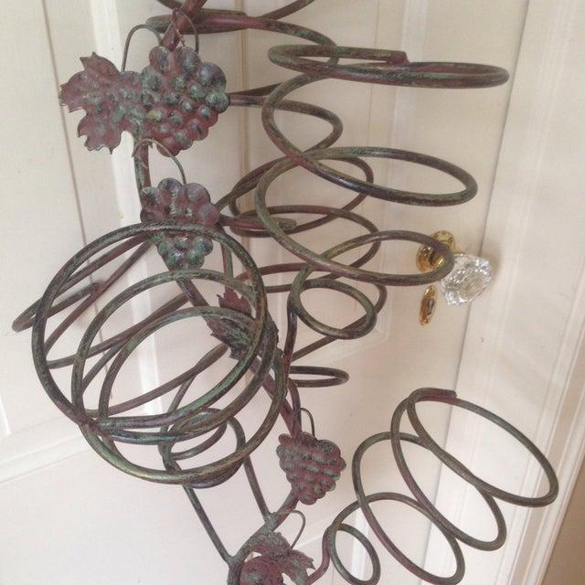 Vintage Metal Hanging Bottle Tree - Image 11 of 11