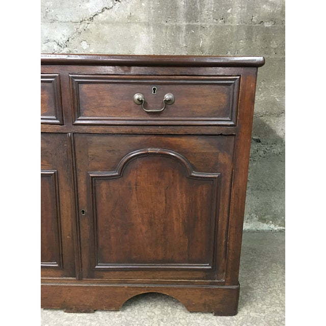 Mid 19th Century Mid 19th Century Antique English Petite Sideboard For Sale - Image 5 of 12