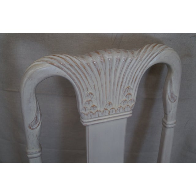 Whitewash Dining Chairs - Set of 10 - Image 5 of 10