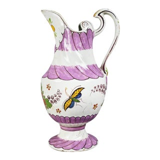 Unusual Delft Pitcher For Sale