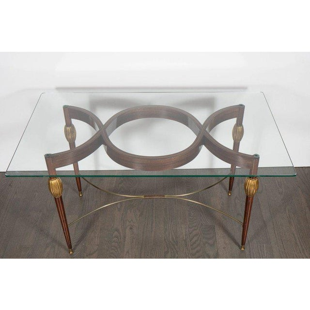 Mid-Century Modern Italian Cocktail Table in the Style of Gio Ponti, circa 1945 For Sale - Image 4 of 11