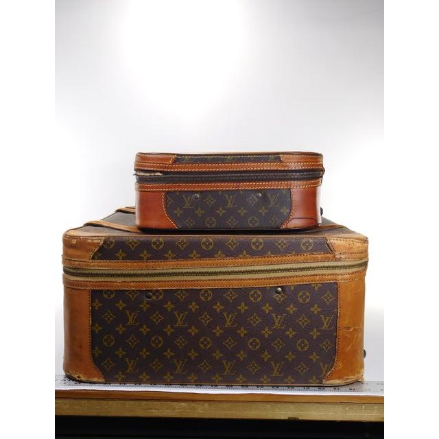 Authentic Vintage Louis Vuitton Suitcases - A Pair - Image 3 of 10