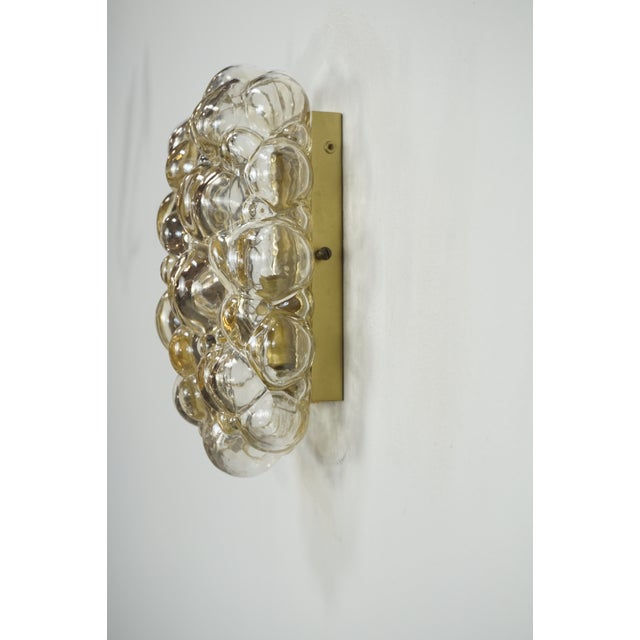 Oblong Bubble Glass Wall Lights by Helena Tynell - a Pair For Sale In San Francisco - Image 6 of 8
