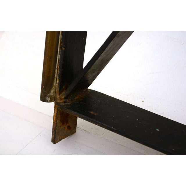 Hollywood Regency Mid-Century Mexican Modernist Handrail by Talleres Chacon For Sale - Image 3 of 9