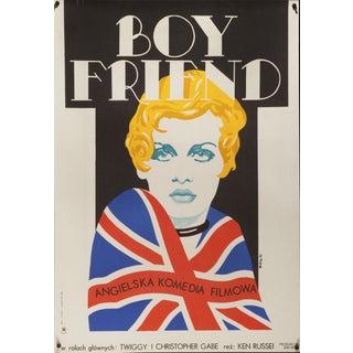 "Polish film poster of Twiggy in ""The Boy Friend"""