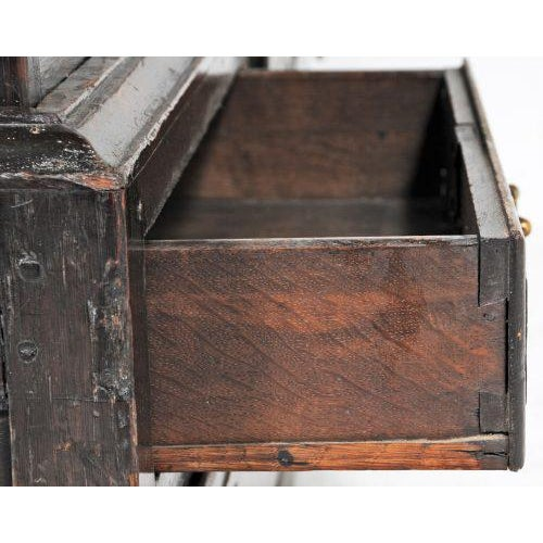 1770 English Oak Cupboard/Livery Cabinet For Sale - Image 11 of 12