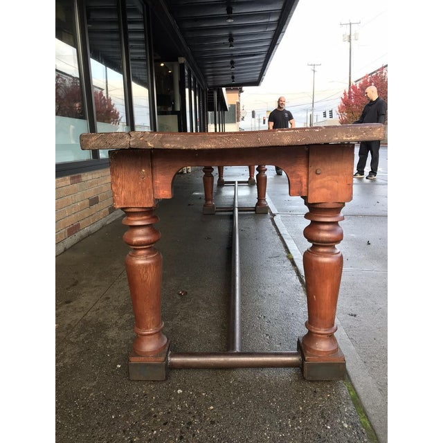 19th Century Fir Dining Table - Image 3 of 6